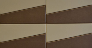 TILES TRAPEZOID LEATHER